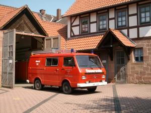 Feuerwehr Einsatzfahrzeug Kirchhain - Langenstein