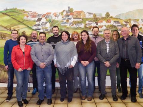 Bild der Kandidaten für die Ortsbeiratswahl Kirchhain-Langenstein