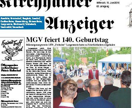 140JahreMGV 1876 Frohsinn Langenstein feiert Jubiläum