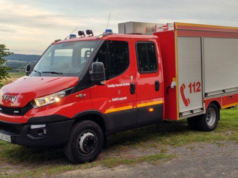 Neues Feuerwehrauto Langenstein