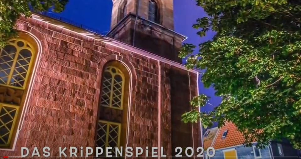 Video Krippenspiel der Kinder in Langenstein und Niederwald